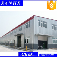 low cost light steel structure building workshop prefab warehouse steel shade structure for sale