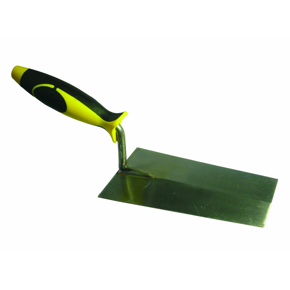 High Quality Stainless Steel Trowel With Rubber Handle ( SG-086 )