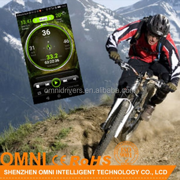 Shenzhen Omni sport APP GPS Cycle Tracker Wireless Multifunction Computer for Exercise Bike