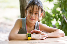 Vulnerable Children Students Young Kids Flip cheap Hand watch mobile phone---Caref Watch