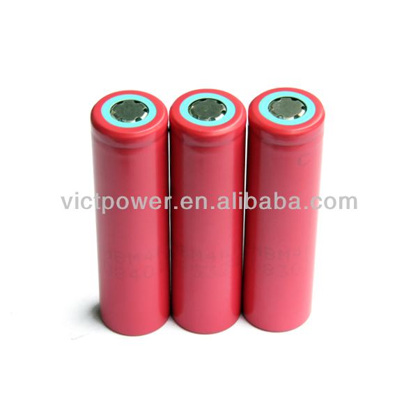 li-ion battery pack 3.7v sanyo 18650 UR18650F 2600mah