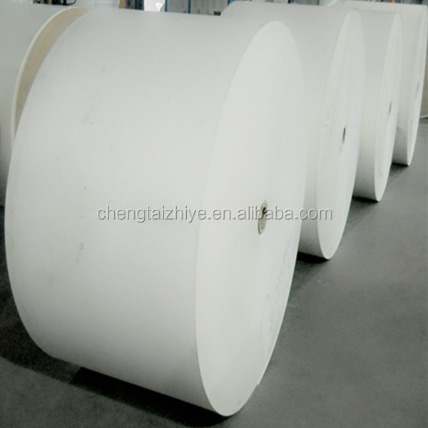 Paper Cup Raw Material,Printed Pe Coated Paper Roll For Paper Cup Wall