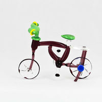 Buy millefiori glass tricycle Italian glass gift articles figurine
