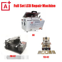 full glass repair kit bubble removing machine/oca laminating machine for mobile phone