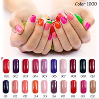 2016 Hot Sale Florales Classic Color Gel Nail Polish From China Factory
