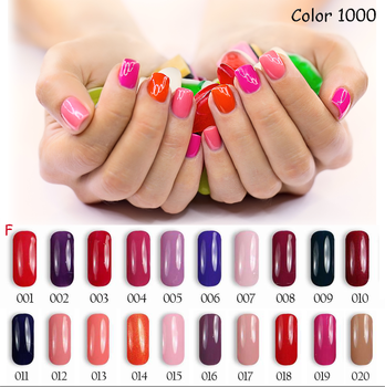 Fei Fan 2017 Hot Sale Florales Classic Color Gel Nail Polish From China Factory