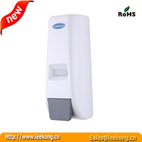 400ml wall mount small kitchen design shower liquid soap dispenser with refillable clarified tank