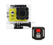 Action Camera Ultra HD 4K 170 degree 2 inch 1080P Sport Cameras with Remote Control Waterproof HD Camcorder