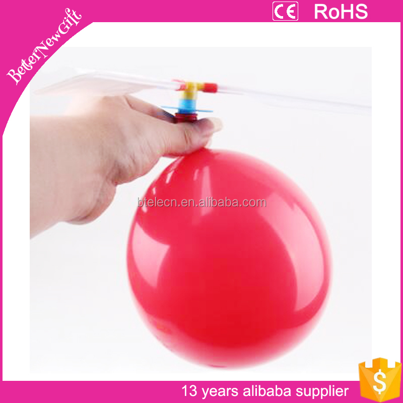 Traditional Classic Balloon Airplane Helicopter For Kids Child Party Bag Filler Flying Toy outdoors
