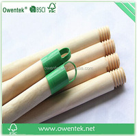 2015 latest shape,factory directly supply,natural wood broom handle,dome end.home garden cleaning