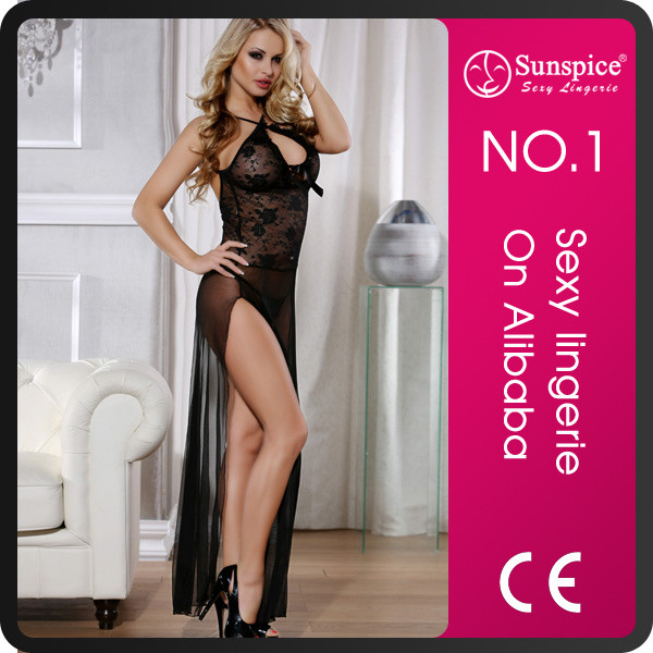 Fashionable hot sexy transparent nighties for women with top quality