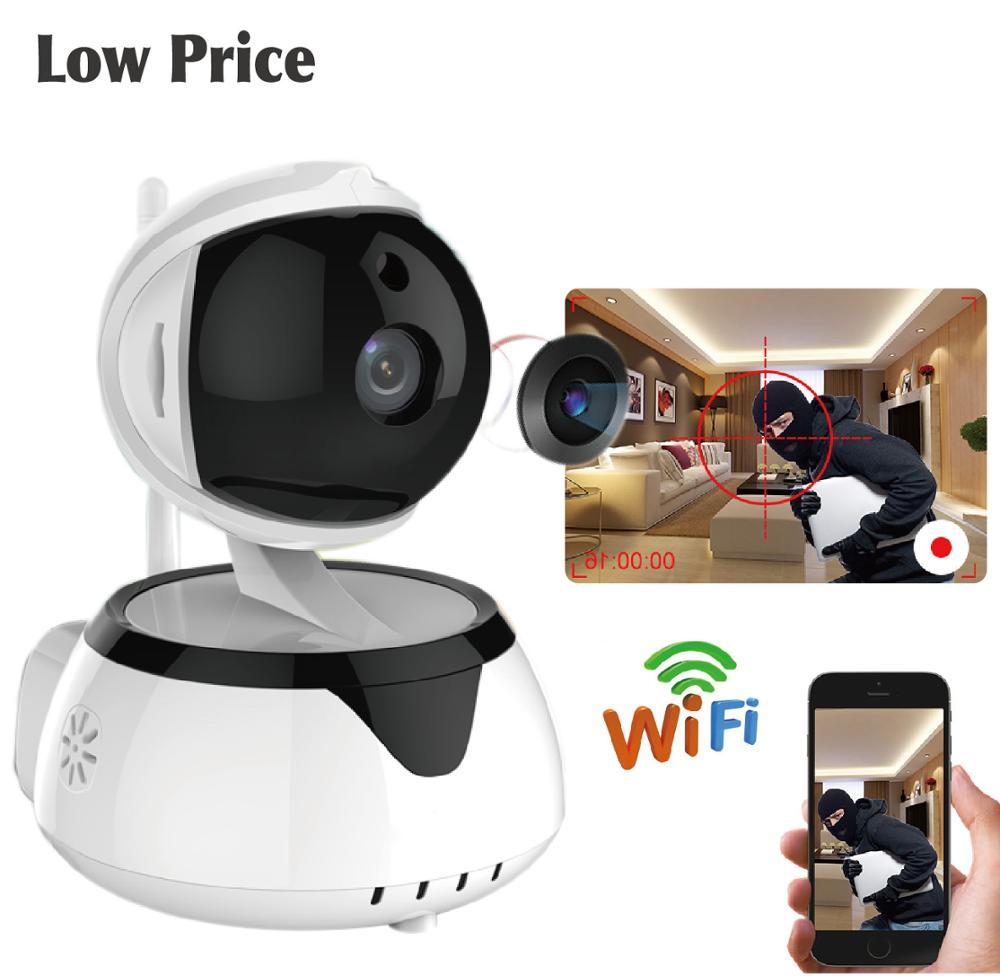 2018 Cheap Wi-Fi Ptz IP <strong>Camera</strong> 720P 1080P smart home baby pet PAN tilt monitoring remote control rotating Wireless wifi <strong>Camera</strong>
