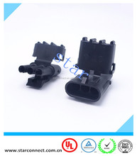 auto connector 3 Pin Way Delphi replacement Sealed Waterproof Auto Motercycle Connector Plug