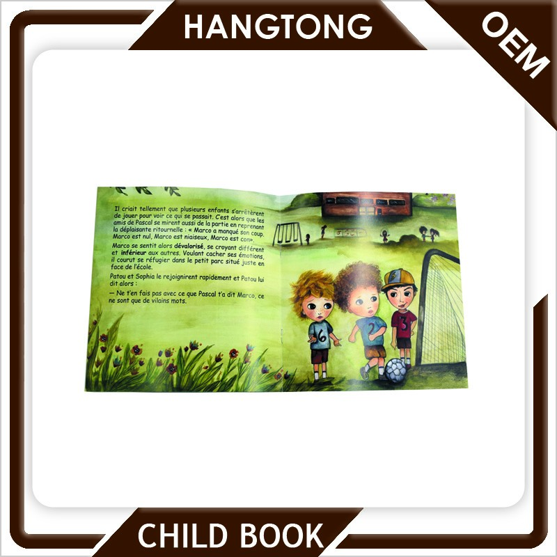 Customized printing funny and interesting english story children books