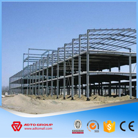 Factory Price Steel Structure Prefabricated Shopping Mall Car Garage Exhibition Hall with High Quality