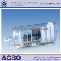 Different types and sizes quartz tube furnace or quartz glass pipe