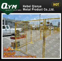 hot dipped galvanized / polyester powder coated after galvanized metal pole for fence