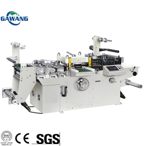 Functional Self Label Adhesive Die Cutting Machine