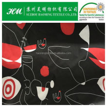 abstract design printed down jacket fabric