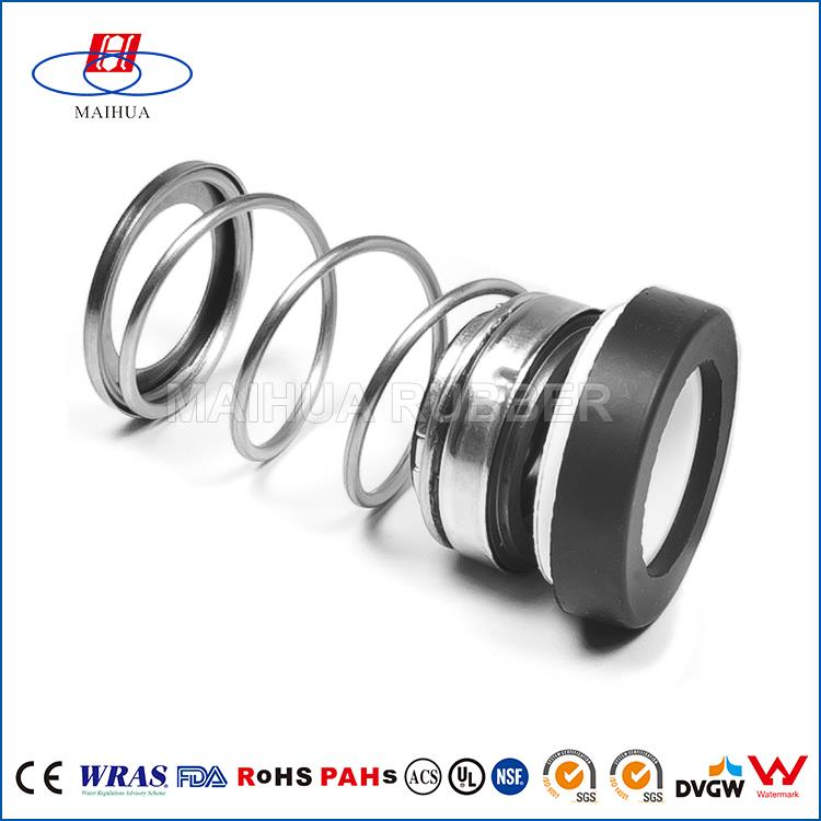 Heat insulated waterproof NBR/VITON dry gas seal