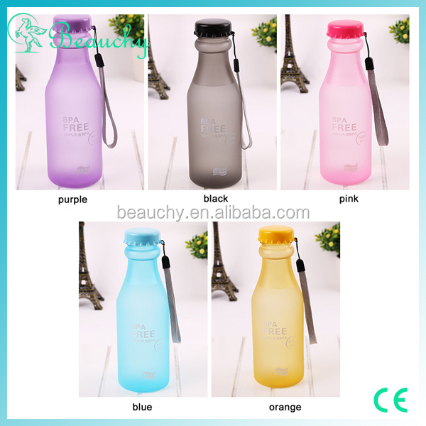 Beauchy 2016 550ml clear high-quality plastic drinking bottle soda bottle