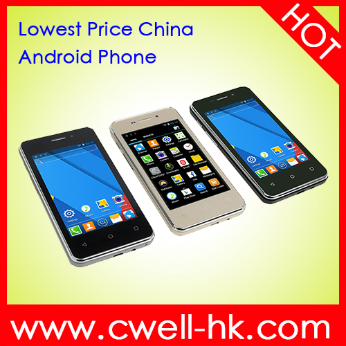 ECON G3 Cheapest Android 4.4 4.0 Inch Capacitive Touch Screen hot china products wholesale Mobile Phone
