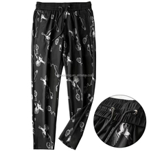 OME Men's Sport Jogger Pants Long Style Hip Hop Patterned Pants Casual Breathable Trousers Wholesale Stock In China