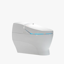 One piece wc intelligent sanitary wares electronic smart toilet