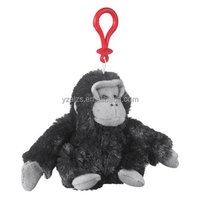 Promotional Gorilla Plush Keychain Stuffed Toy
