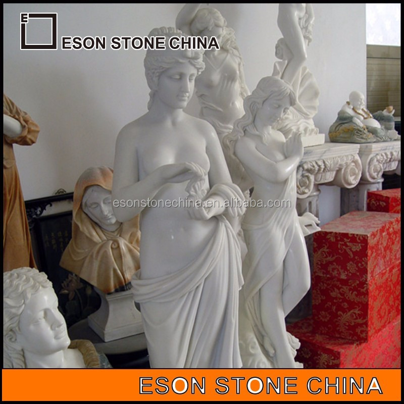 eson stone ES-28 european style figure stone sculpture,statue for slae