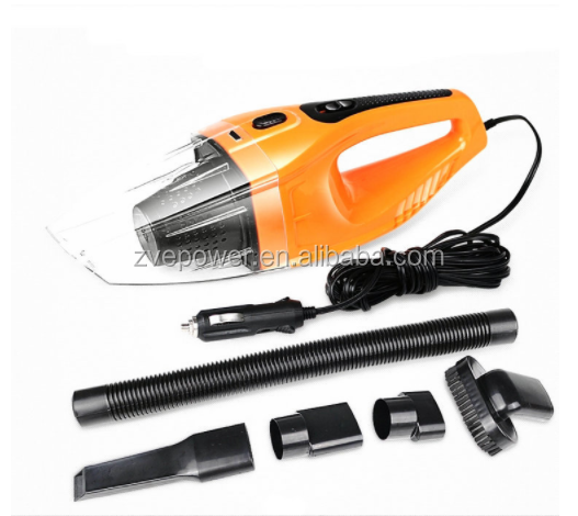 Car Vacuum Cleaner Portable Handheld Car Dust Collector Cleaning Wet&Dry Dual-use Super Suction Aspirador de po 12V 120W