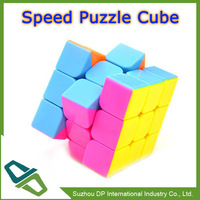 Promotion 3x3 Stickerless Smooth Speed Magic Cube Puzzle Cube