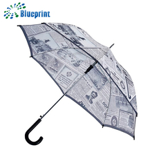 Automatic curved handle indian standard umbrella specification
