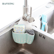 HANYING Kitchen Sponge Drain Holder Wheat Fiber Sponge Storage Rack Basket Wash Cloth Or Toilet Soap Shelf Organizer