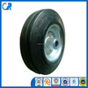 Qingdao manufacturer heavy duty small size solid rubber wheel