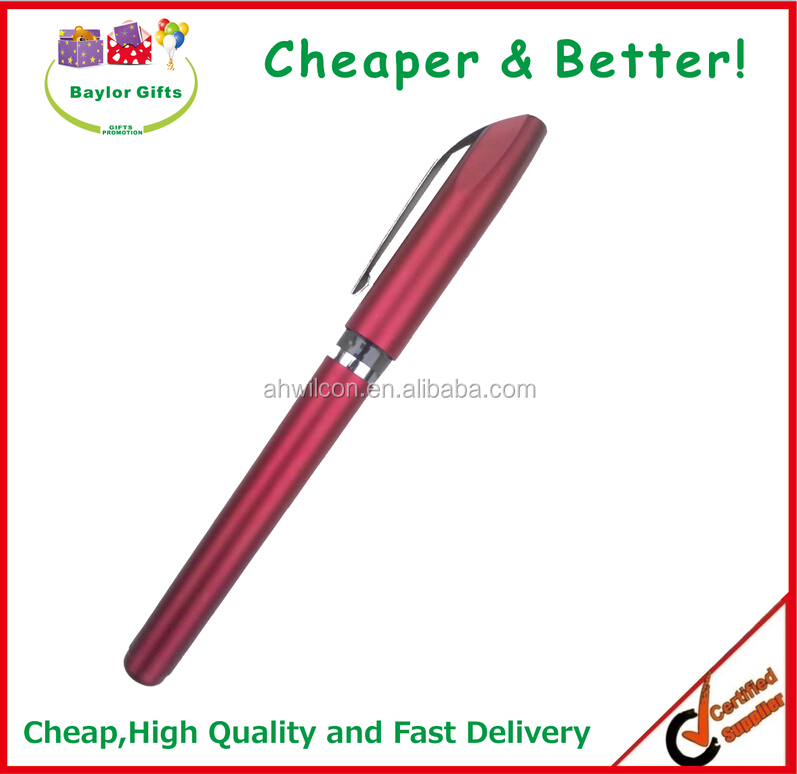 Top Quality Promotional pen Logo Printed promotional Gel Refill Pen