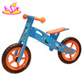 Wholesale cheap mini wooden kids push bike for 3 year old W16C072