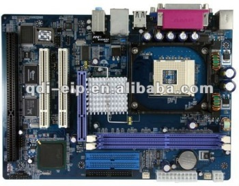 845GL(ISA) Motherboard with One ISA slots,Support Socket 478 CPU, 2 PCI slots, onboard VGA ,LAN ,Sound, 845GL-ISA