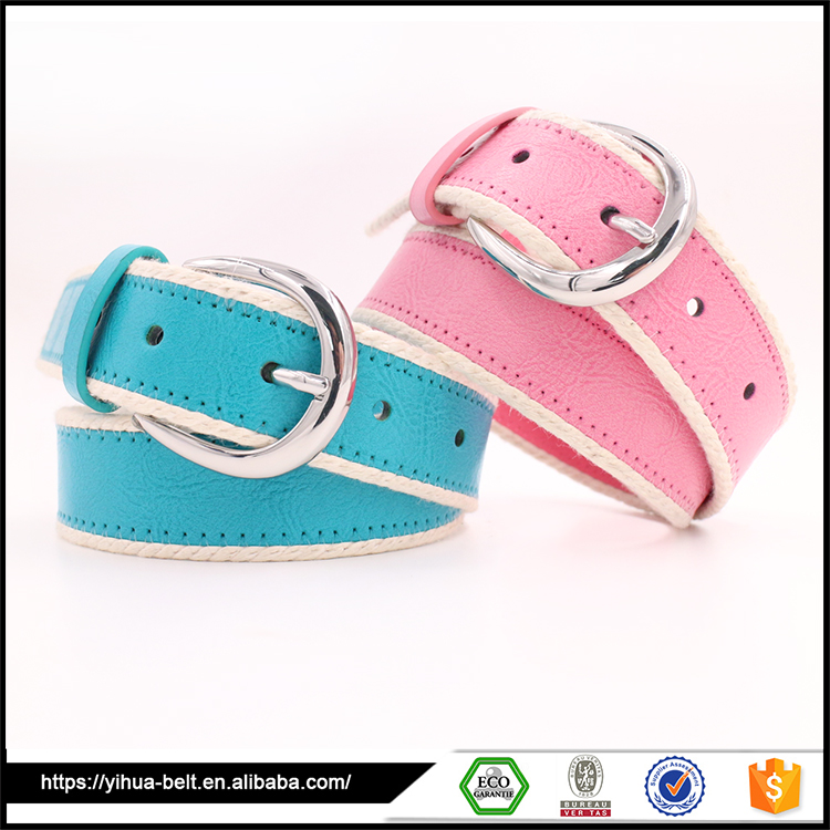 New brand hot designer fashion Narrow simple kids belt