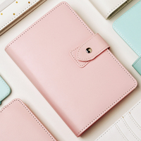 Pink Journals Custom A5 A6 Pu