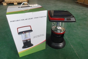 High efficiency good quality IP65 CE&ROHS solar insect killing light solar lamp