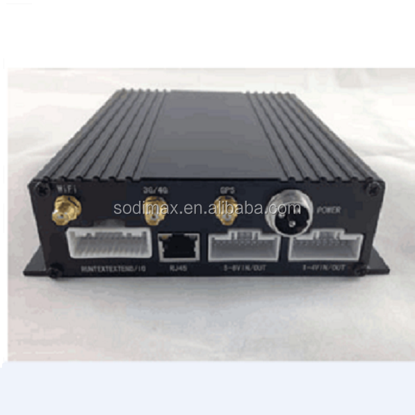 1080p Monbile DVR Free Software 8 CH 128GB SD Mobile DVR with 8 Cameras Monitoring the BUS/ 8 Channel 720P SD Card Mobile DVR