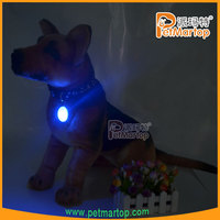 China Pets Supplies Design Customize Pet Id Collar Tag TZ-PET212 flashing led tag accessories