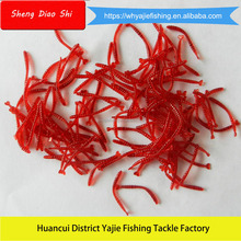 Attractive Handmade Worm 20mm 0.03g Soft Plastic Fishing Swimbait