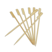 Party Flat BBQ Bamboo Paddle Style Teppo Skewers