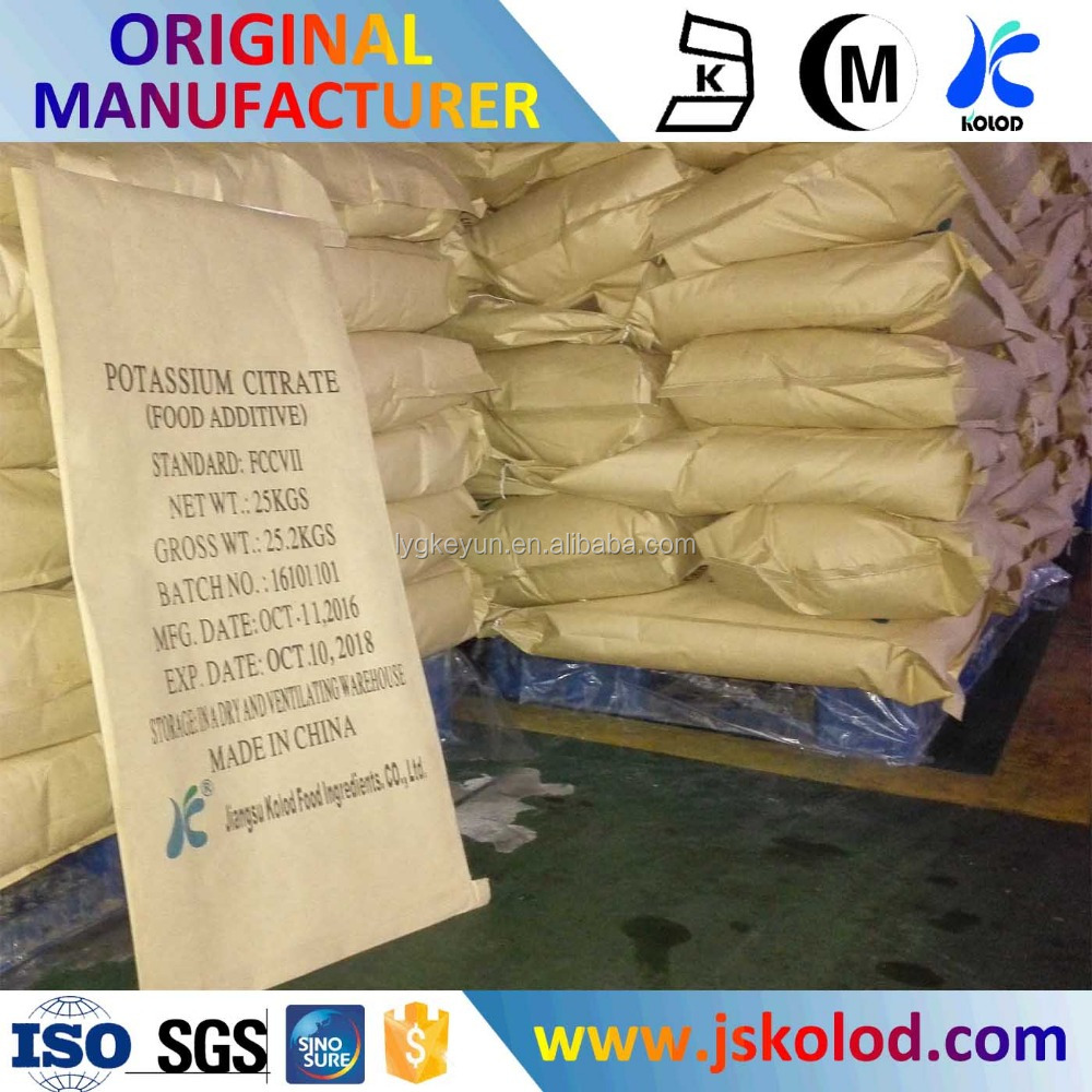 Healthy Good Quality Potassium Citrate