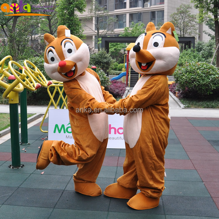 Customized mascot Monkey Bear fur adult animal plush costume with high quality