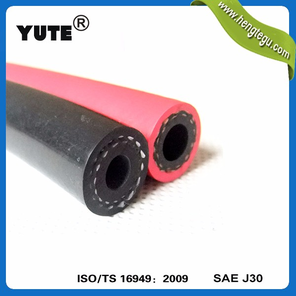 auto engine parts using red din73379 flexible rubber hose line for fuel systems