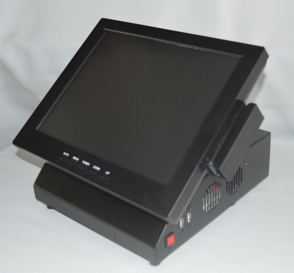 small design 12inch touch POS PC with MSR