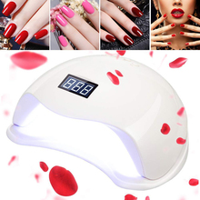 Electric Diamond Shape Portable Mini LED UV Nail Lamp Gel Polish Led Nail Lamp Dryer 48W for Nail Lamp
